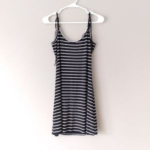Urban Outfitters striped body con dress